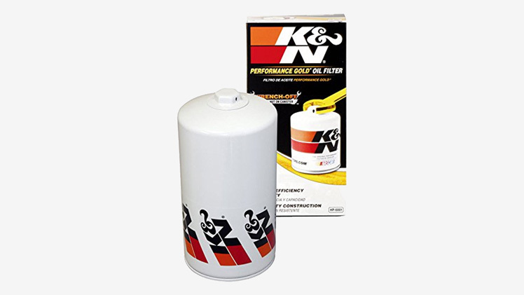 7.3 Powerstroke Oil Change  K&N Oil Filter