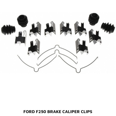 Ford F250 Brake Caliper Clips