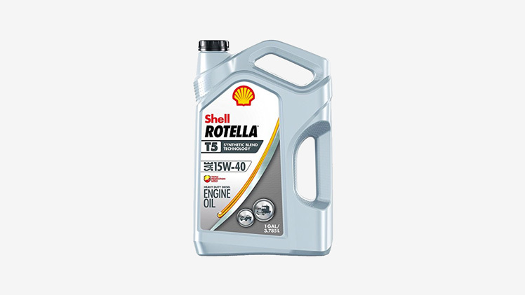 Shell Rotella Synthetic T5 15W40 for 7.3 Powerstroke