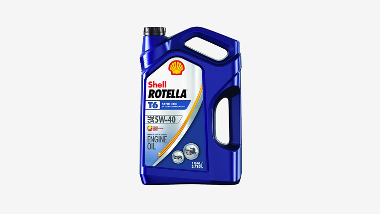 Shell Rotella T6 5W40 6.0 Oil